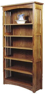 mission bookcase plans