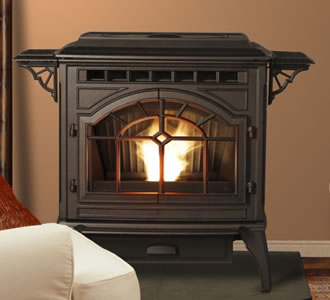 GAS FIREPLACE INSERT VS. PELLET STOVE | EHOW