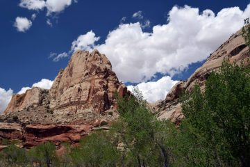 Capitol Reef Clouds