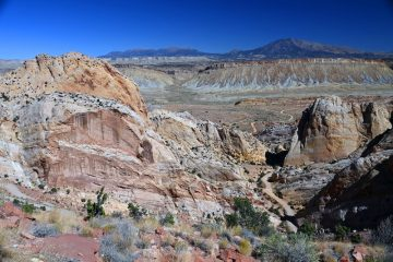 Burr Trail Overlook